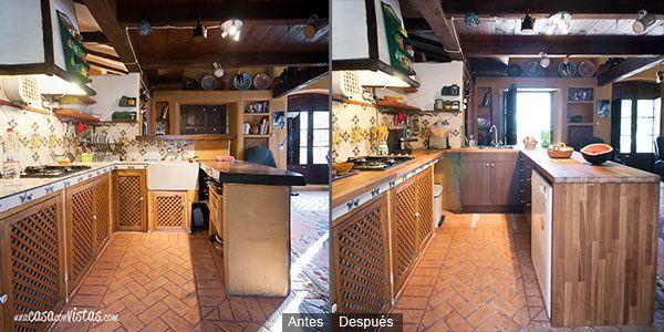 Cocina antes & después