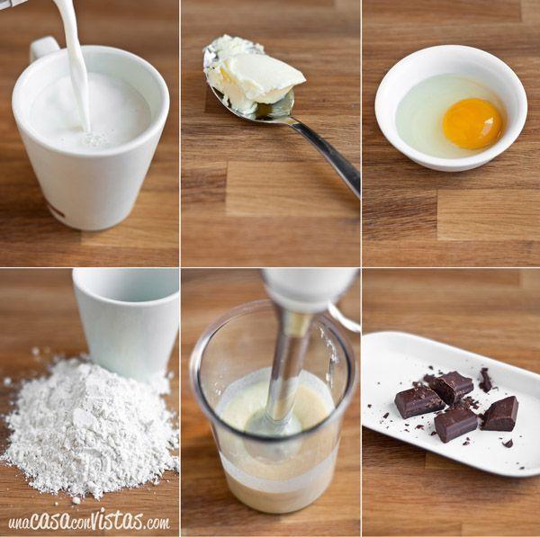Ingredientes tortitas