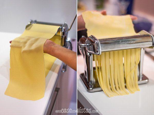 Pasta fresca casera