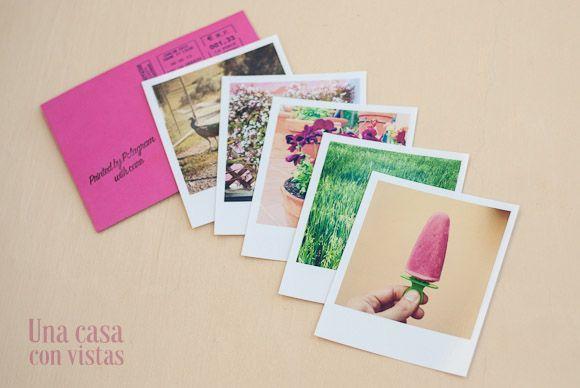 Fotos tipo Polaroid en Polagram