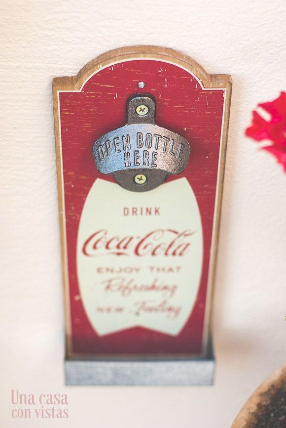 Abrebotellas Coca Cola vintage