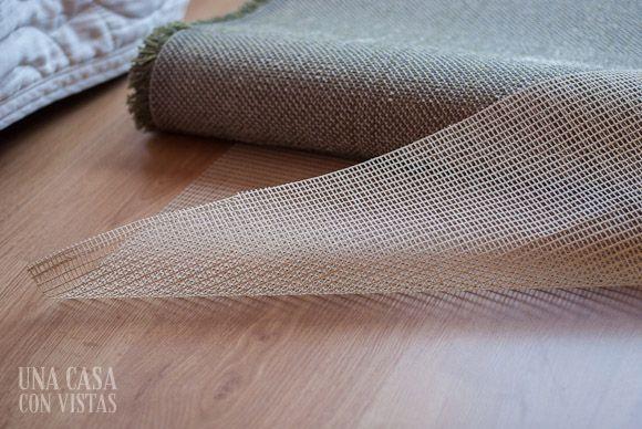 Rejilla de goma para alfombra