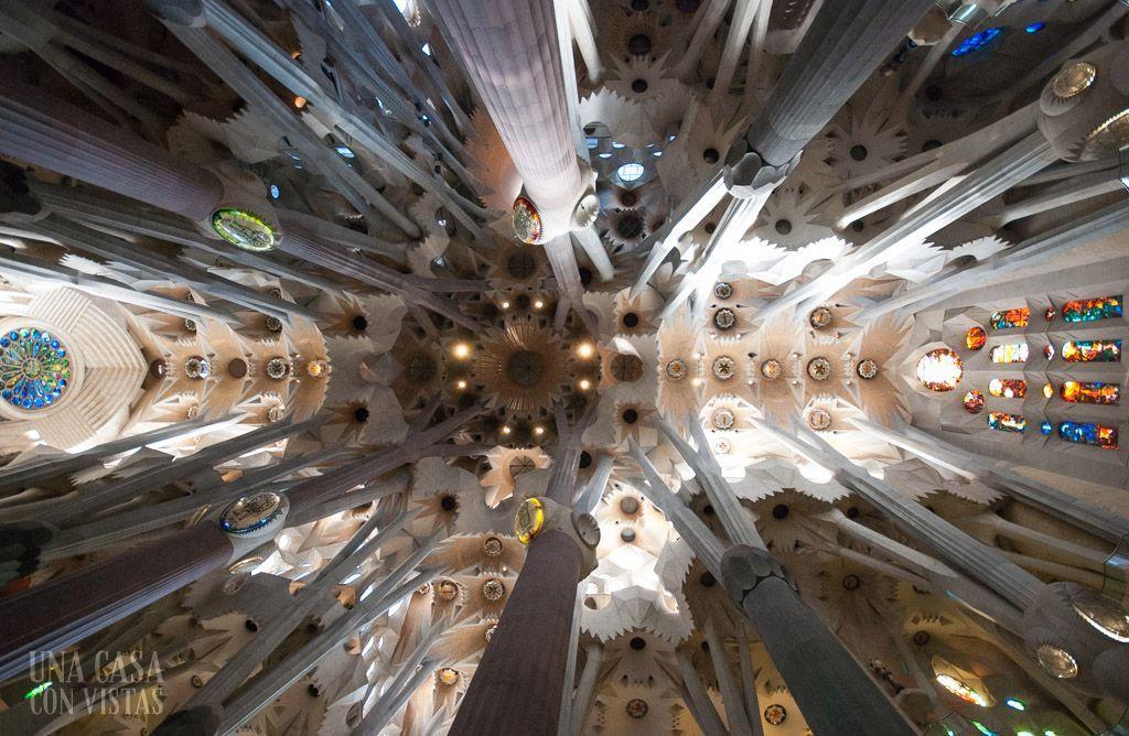 Techo Sagrada Familia
