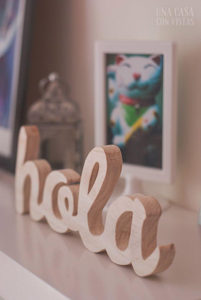 Letras de madera personalizadas para decorar