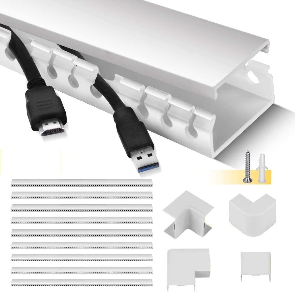 Canaleta para organizar cables