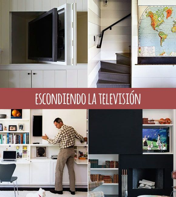Formas de esconder la tv