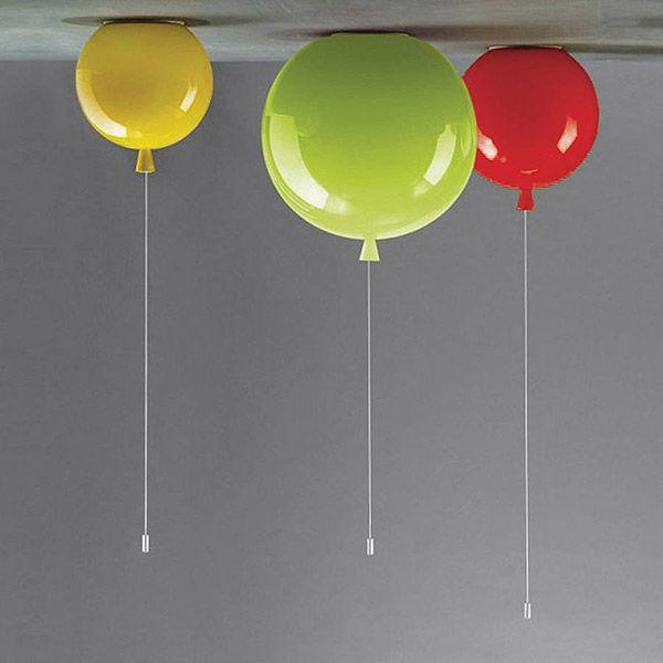 Lámpara de techo globos