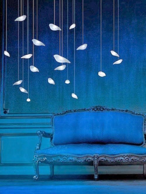 Lámpara de techo pájaros