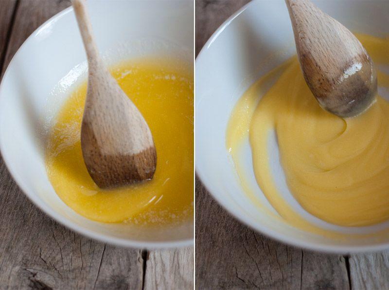 Mantequilla en punto pomada