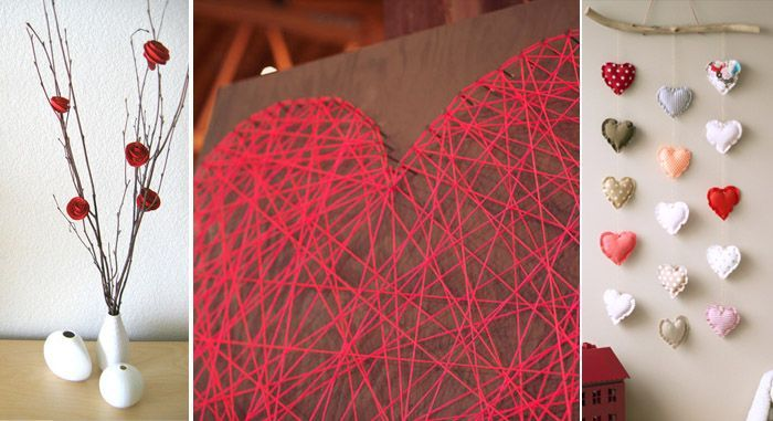 Tres ideas geniales para decorar o regalar en san for Decoracion para pared san valentin