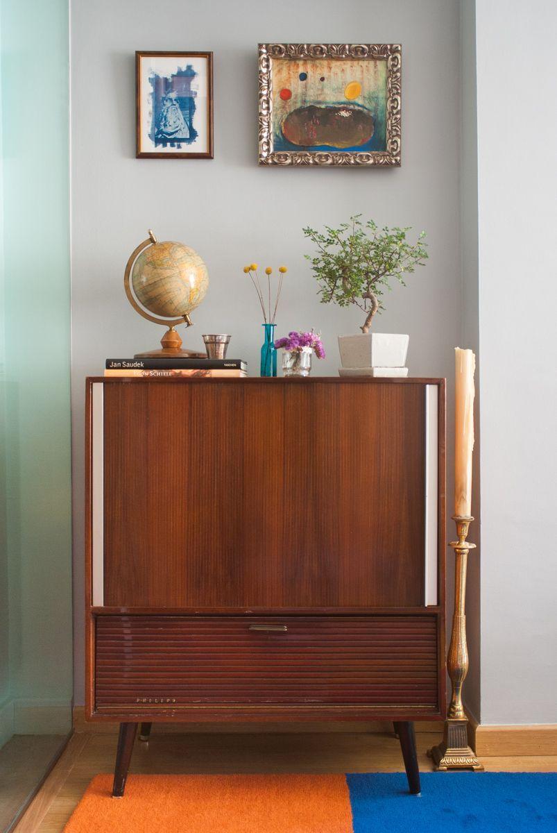 Mueble Aparador Philips De Los A Os 60 Una Casa Con Vistas # Muebles Tocadiscos