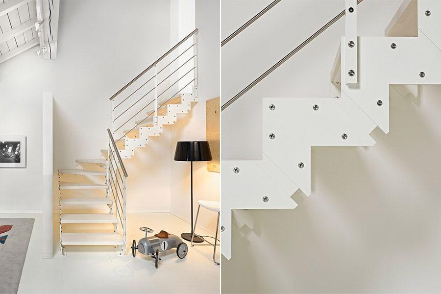 Lujo escaleras en poco espacio imagen ideas de for Escaleras en poco espacio