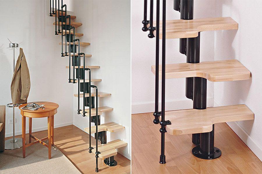 Diferentes tipos de escalera para diferentes tipos de espacios una casa con vistas - Tipo de escaleras ...