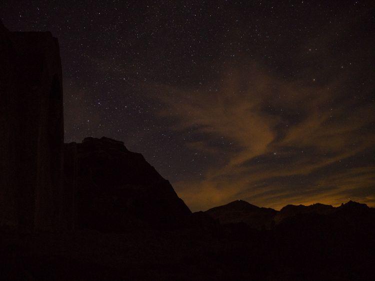 Cielo estrellado en Sierra Nevada