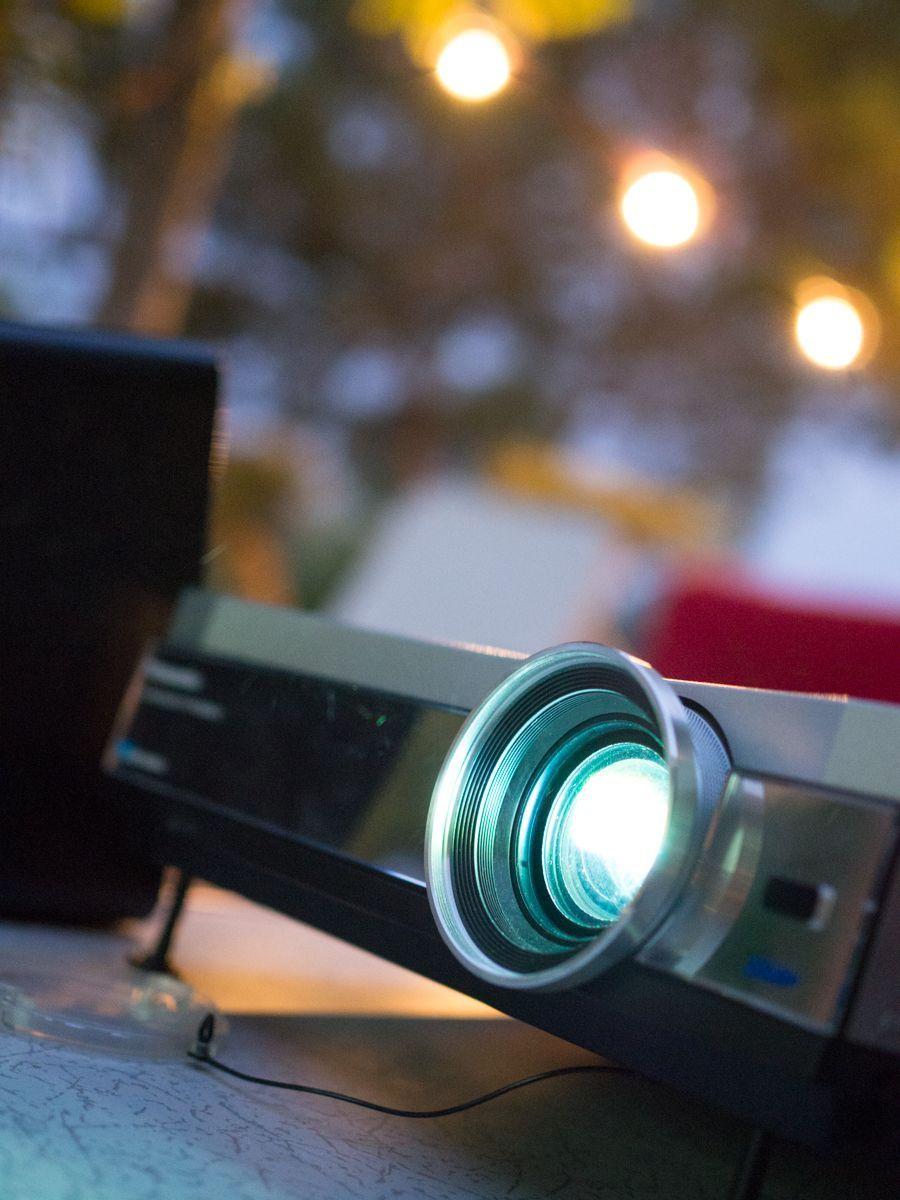 Proyector para cine de verano en casa