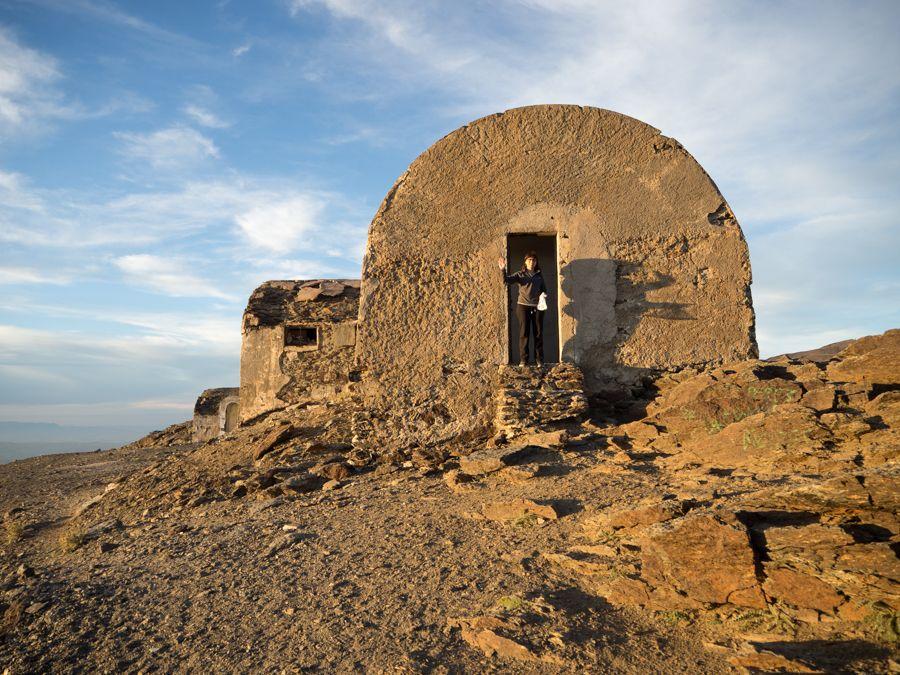 Refugio Elorrieta en Sierra Nevada