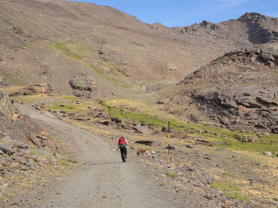 Caminando por Sierra Nevada