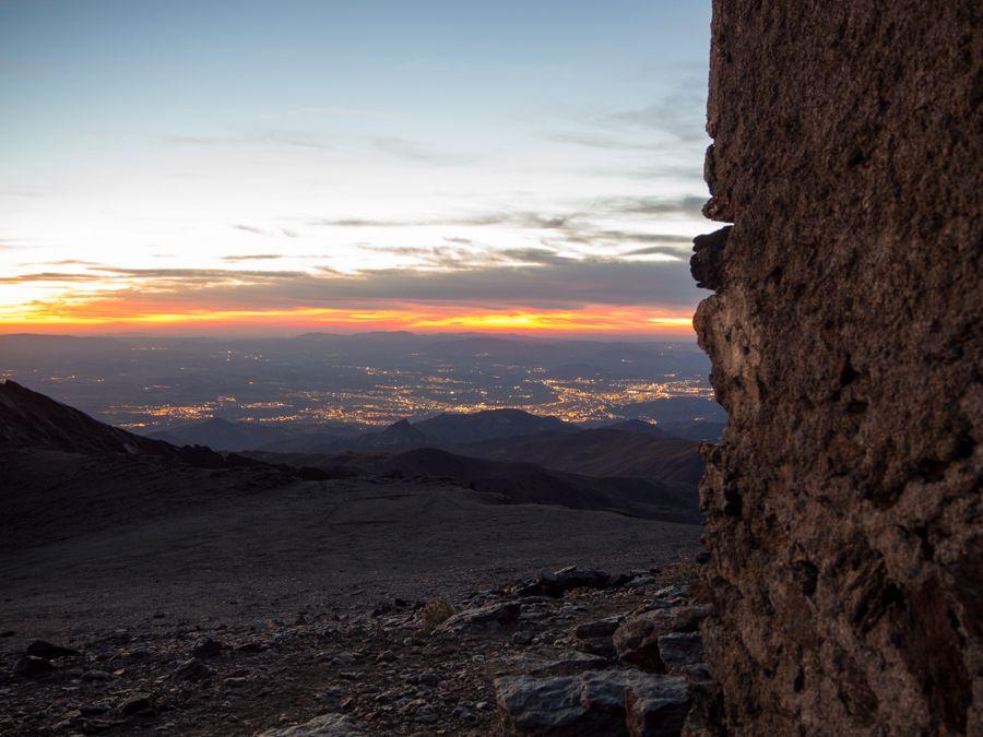 Vistas de Granada desde Elorrieta