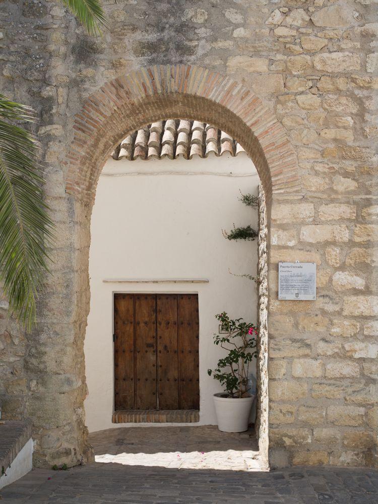 Arco de la muralla en Vejer de la Frontera