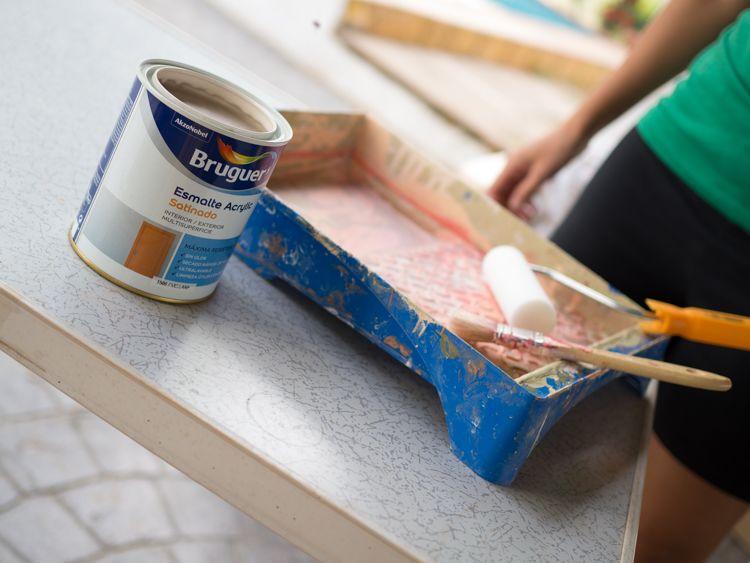 Pintura bruguer efecto chalk paint
