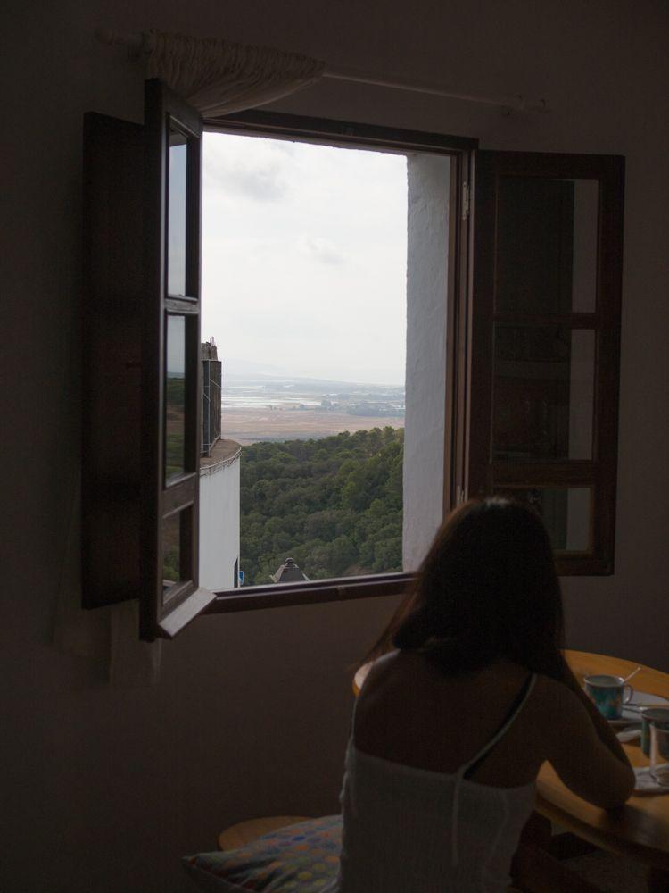 Vistas desde Vejer de la Frontera