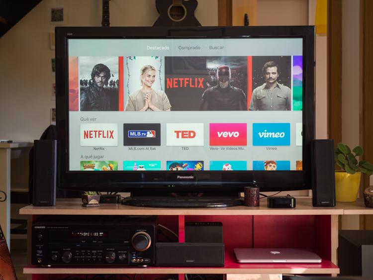 Probando el nuevo Apple TV