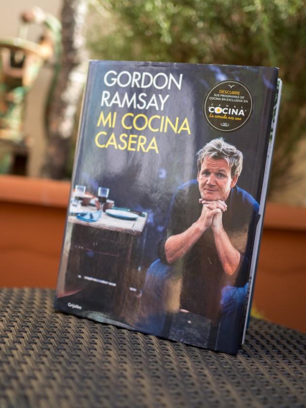Libro de recetas de Gordon Ramsay