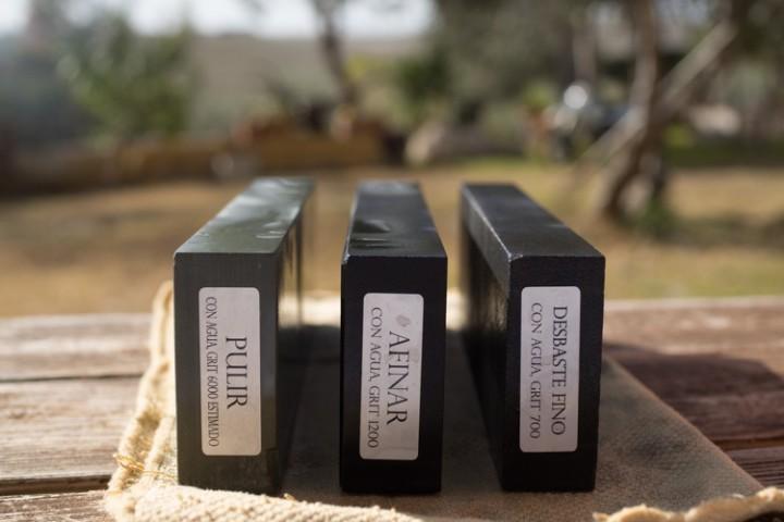 Piedras naturales para afilar