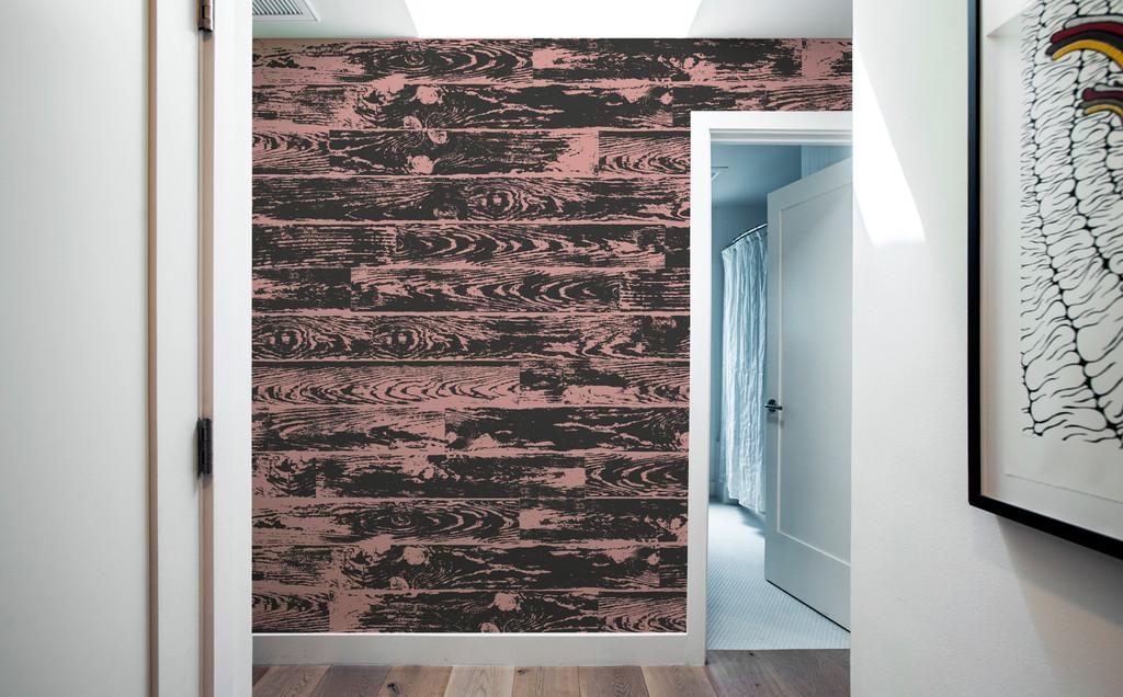 Vinilos decorativos que imitan madera pintada una casa con vistas - Vinilo madera ...