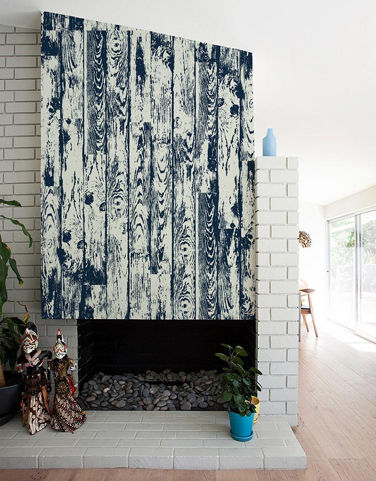vinilos decorativos que imitan madera pintada una casa