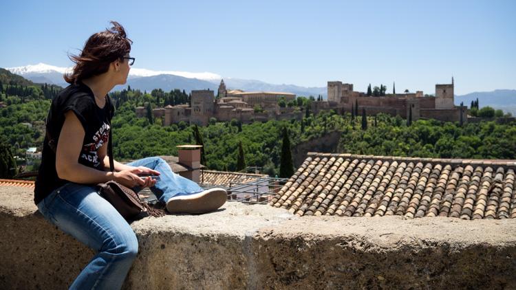 Alhambra desde Mirador de San Nicolás