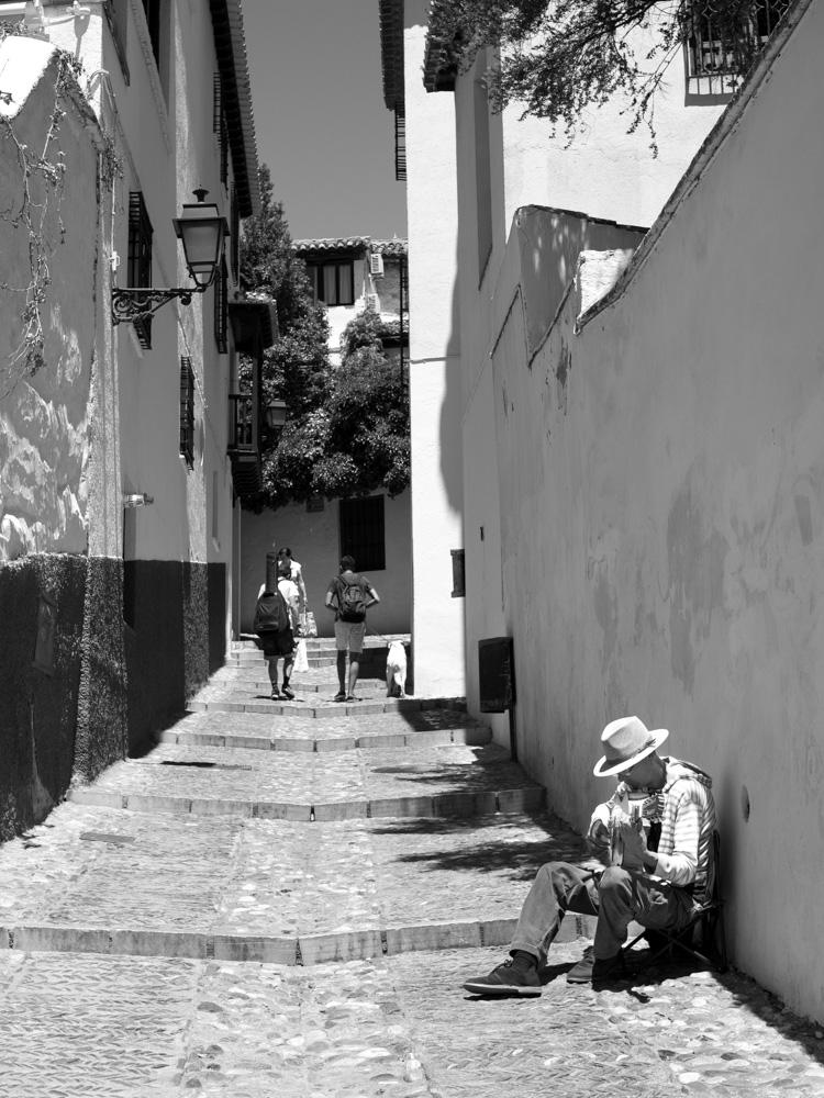 Calle del Albaicín Granada