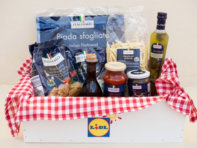 Productos italianos Lidl