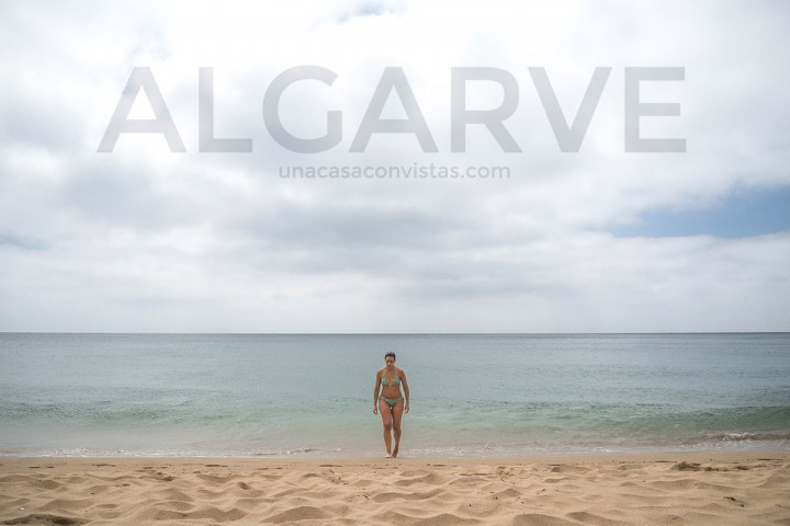 Playa de Beliche en el Algarve