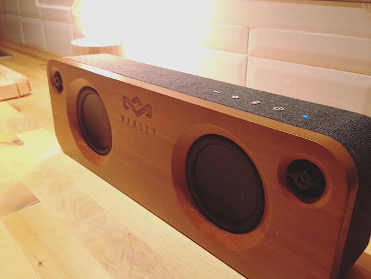 Altavoz bluetooth The house of Marley