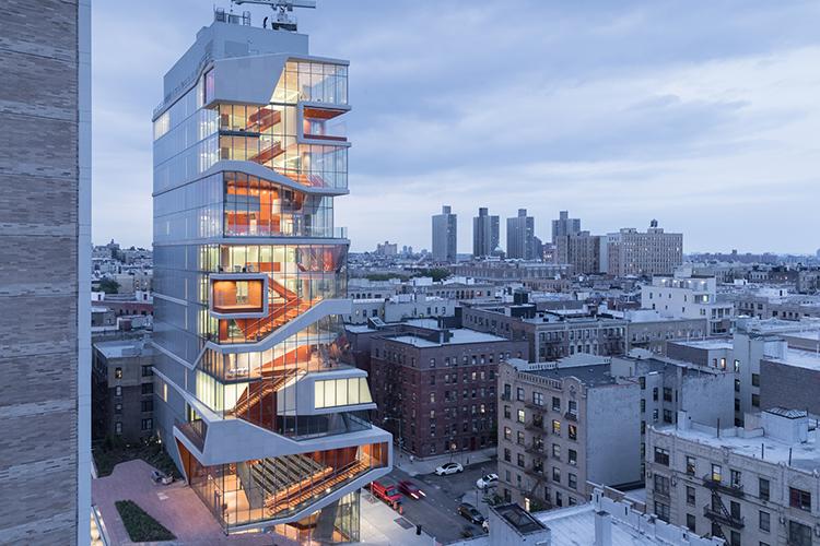 Edificio de cristal en Nueva York
