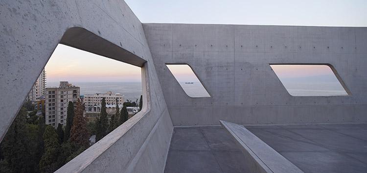 Edificio hormigón en Beirut