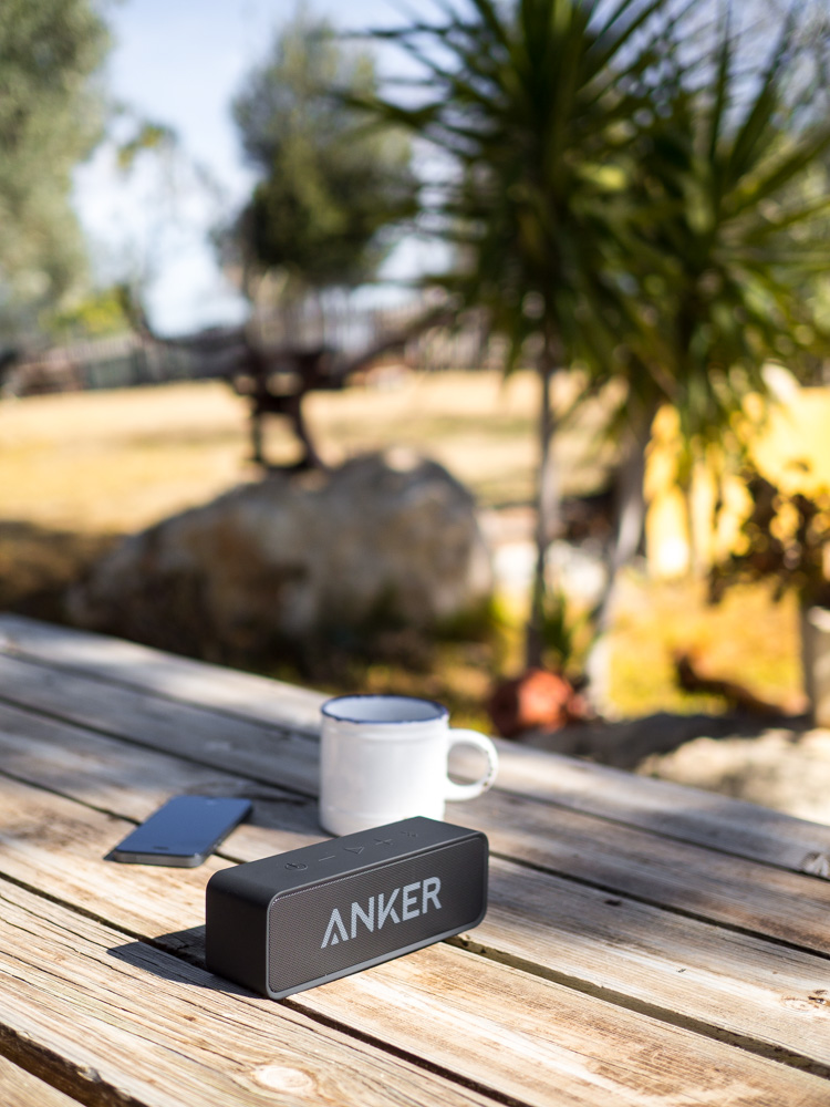 Altavoz portátil bluetooth Anker