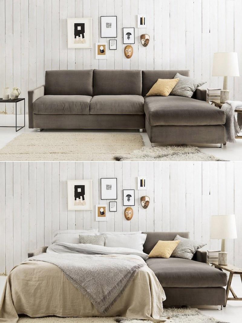 Chaise longue sofá cama