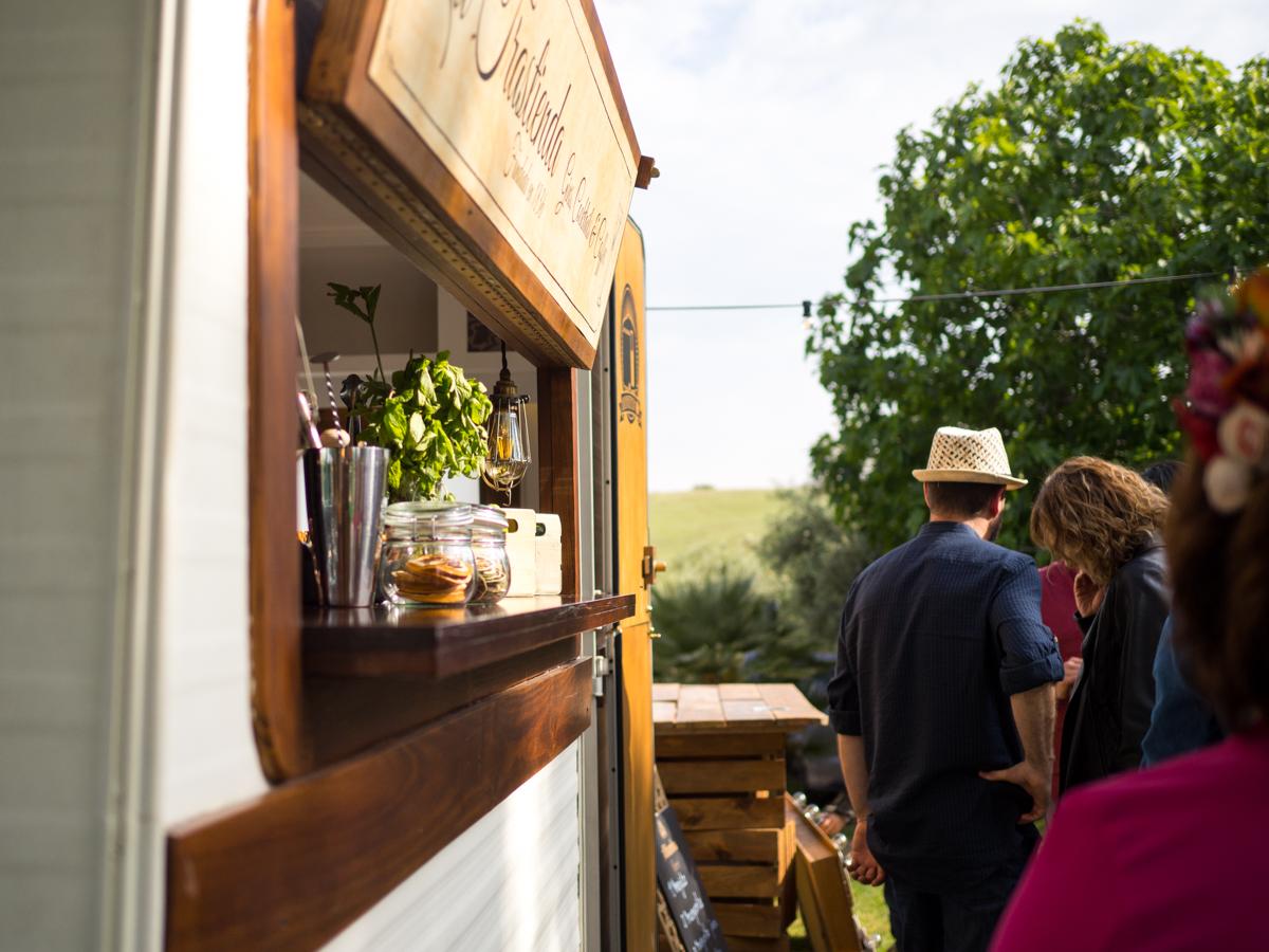 Foodtruck cocteles para boda La Trastienda