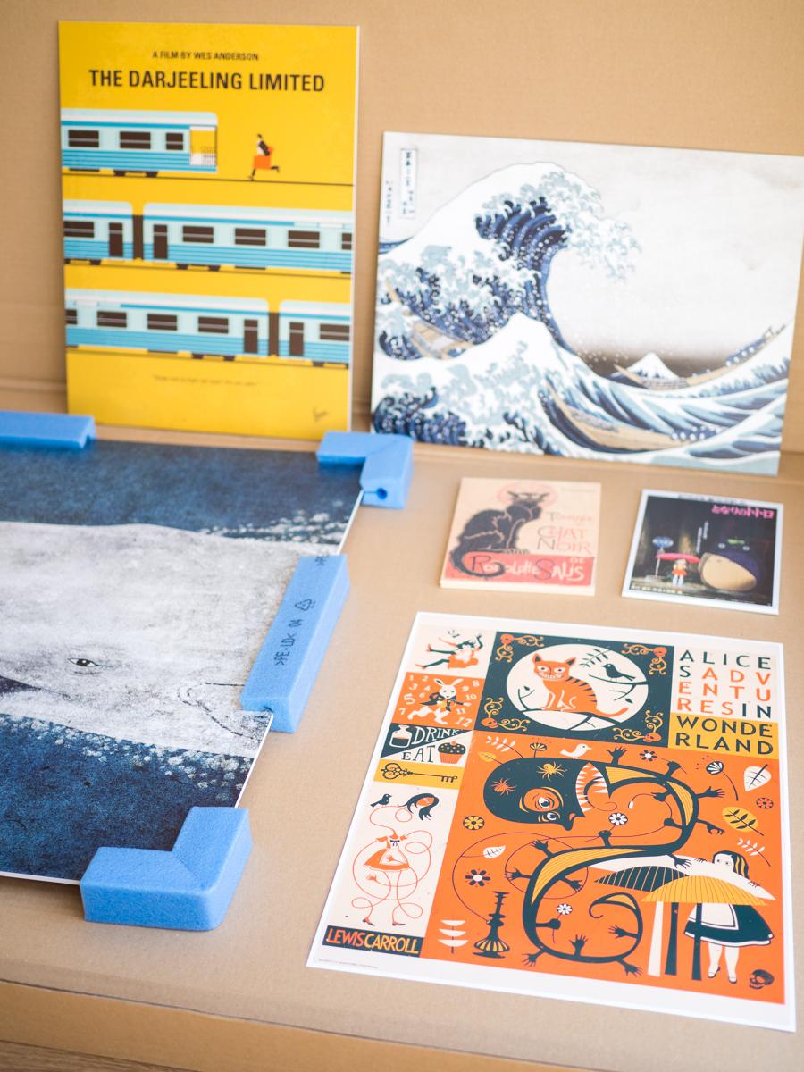 Detalle láminas y cuadros Posterlounge
