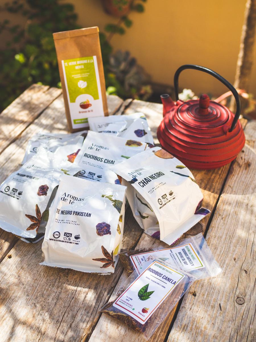 Pedido de tés e infusiones
