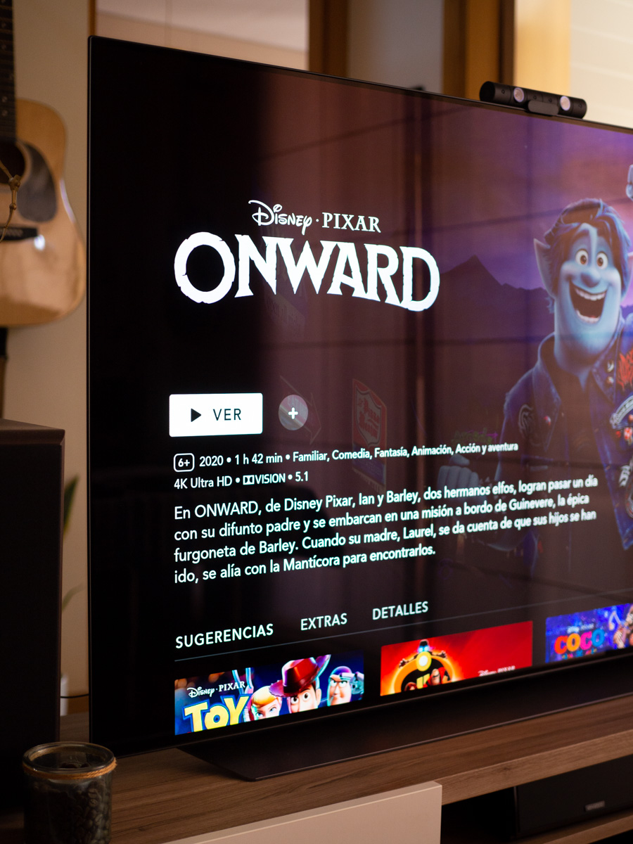 Onward en Disney Plus