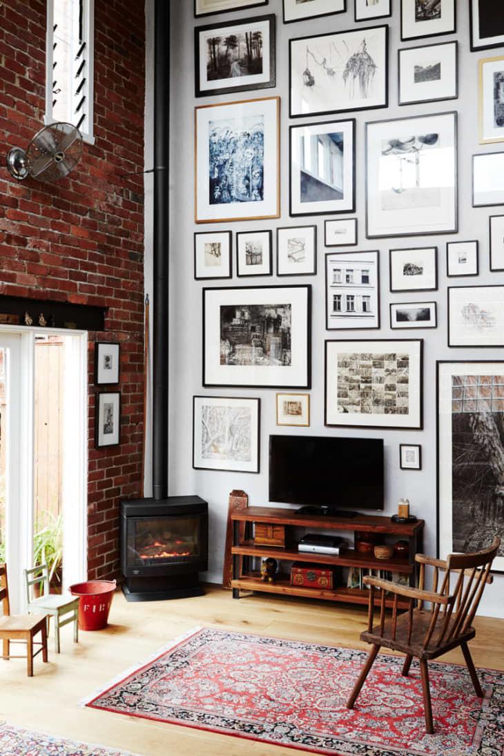 Composición de cuadros para pared