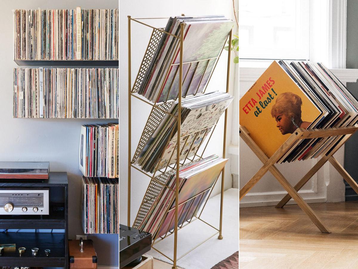 Ideas para guardar los discos de vinilo