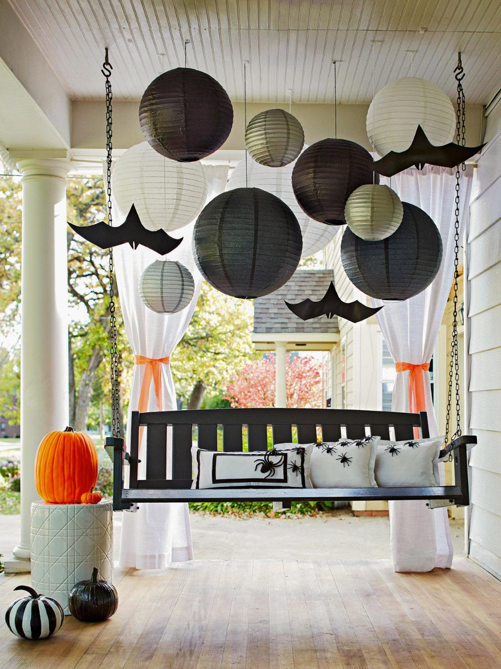 Decoración de Halloween para la terraza