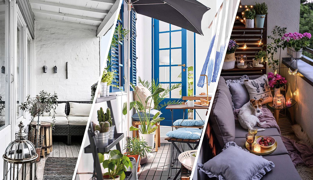 Decoración terrazas y balcones