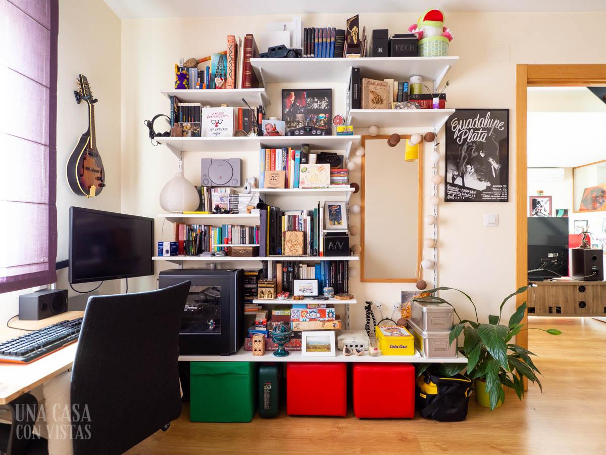 Antiguo espacio de trabajo en casa