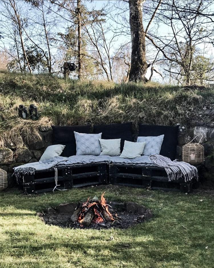 Exterior cabaña nórdica en Dinamarca