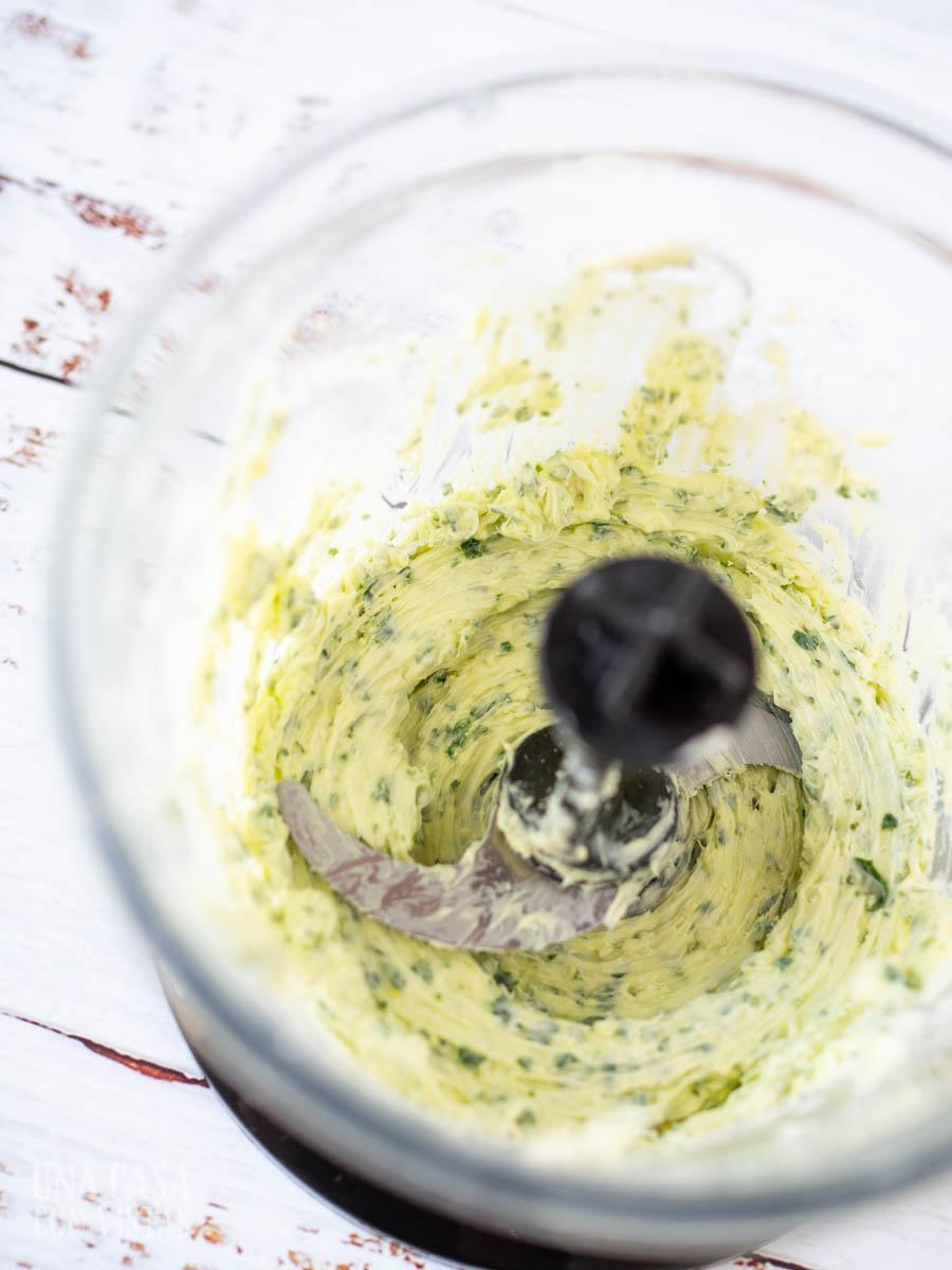 Mantequilla de ajo